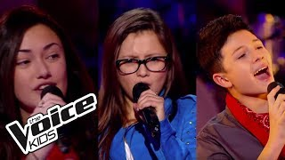 The Voice Kids 2014 | Adrien, Mélina et Victoria  - Coups et Blessures (BB Brunes) | Battle