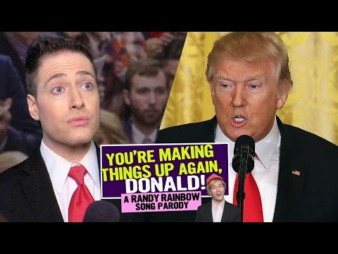 You're Making Things Up Again, Donald! 🤥🤥🎶 Randy Rainbow Song Parody