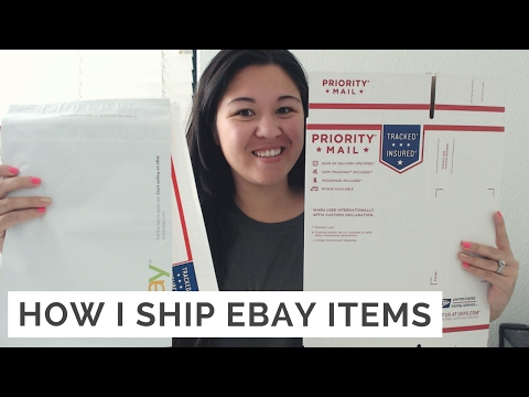 How I Ship Ebay Items & How to Use Calculated Shipping
