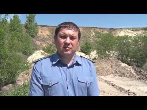 Управлением Россельхознадзора выявлен несанкционированный карьер по добыче общераспространенных полезных ископаемых на землях сельскохозяйственного назначения в Ростовской области