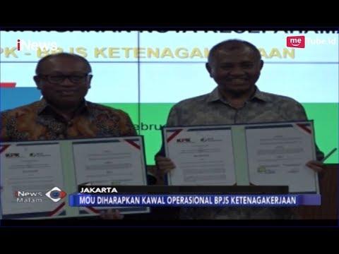 KPK dan BPJS Sepakat Tandatangani MOU Pencegahan Korupsi - iNews Malam 13/02