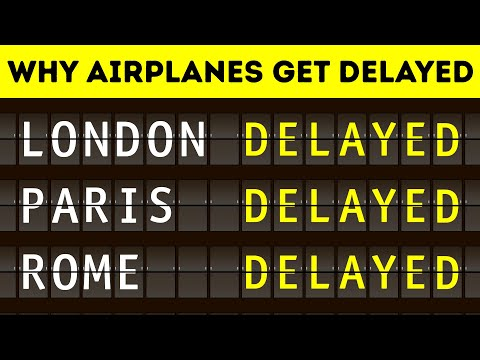 The Main Reason Why Planes Get Delayed