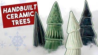 HANDBUILT CERAMIC TREES:  Clay How To