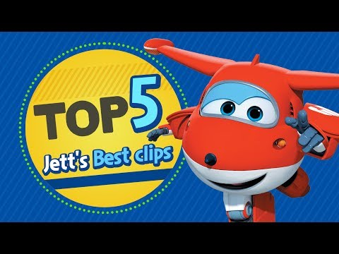 Jett's Best Clips | Top 5 | Superwings Hot Clips Highlight