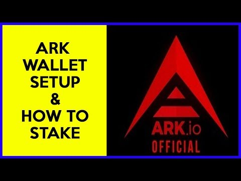 ARK Wallet Setup & How To Stake ARK Tokens By Voting For Delegates
