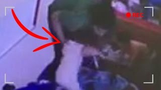 Daycare Worker Caught Slamming Baby On Camera