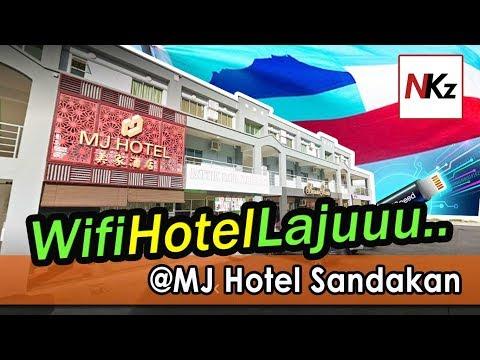 Wifi Internet Hotel Laju Di Sandakan Sabah - MJ Hotel