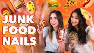 Junk Food Inspired Nail DIY | Shay's Tutorials