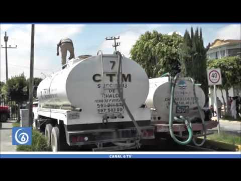Una semana sin agua denuncian habitantes de la 7º Sección de San Buenaventura, sección que pertenece a Chalco