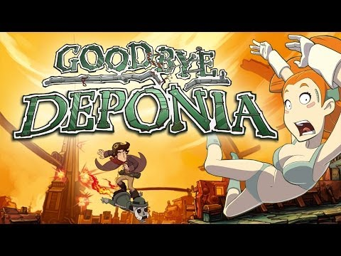 Goodbye Deponia - Official Trailer - English thumbnail