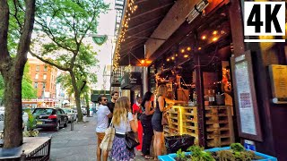 ⁴ᴷ⁶⁰ West Village New York City Walking Tour 2020-Lower Manhattan NYC Tour Via MacDougal Street