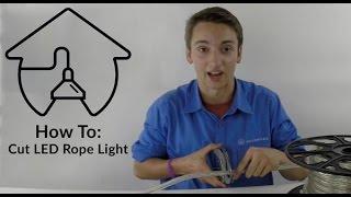 How to Cut LED Rope Light - AQLighting