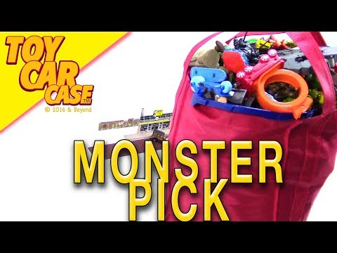 MONSTER BAG OF CARS From The Church Bazaar Fall 2018 Toy Car Case