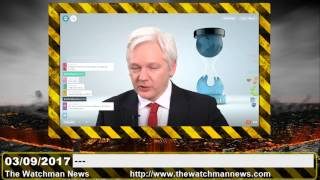 The Watchman News 03/09/2017 Wikileaks Press Conference