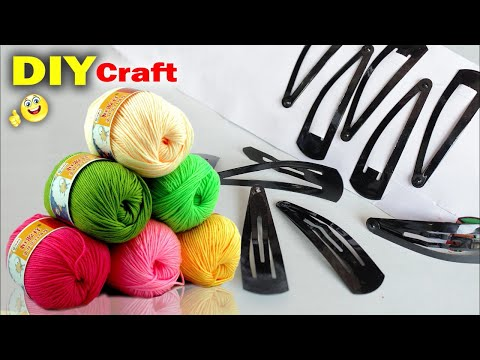 Best Craft Idea Out Of Hair Pin Wall Decoration Idea At Home 2018