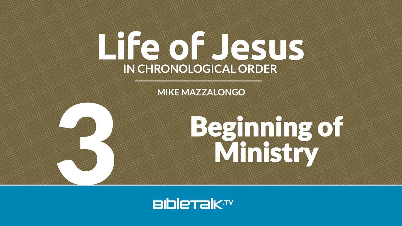 3. Beginning of Ministry