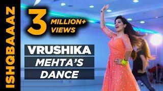 Watch Vrushika Mehta dance to Chham chham on the sets of Ishqbaaaz