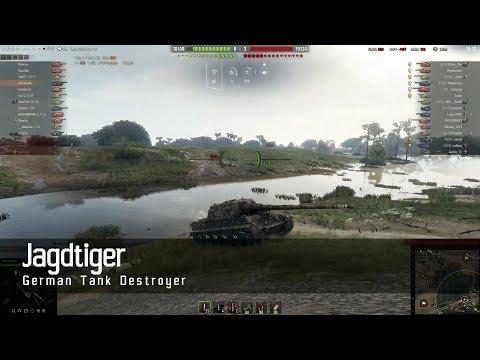 World of Tanks - German Tech Tree - Tank destroyer – Jagdtiger – Live Oaks