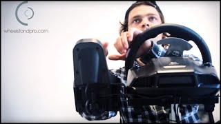 Стійка для руля TRUSTMASTERS Wheel Stand Pro Deluxe PC/PS2/PS3 від компанії Інтернет-магазин EconomPokupka - відео 2