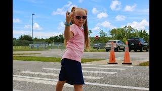 ВЛОГ Школа в США первый день. Никки идет в школу