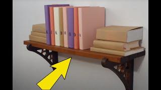 DIY How To Make A Cardboard Shelf + Load Testing, (cardboard Furniture - Shelf) HD