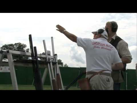 James Haskell learns shooting from John Bidwell