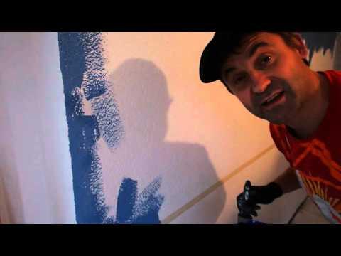 Selber Renovieren: Mit Tesa Malerband Farbstreifen an die Wand Teil 2