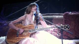 Taylor Swift-Eyes Open LIVE DEBUT- Auckland,NZ, March 17th 2012