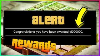 If You Haven't Received Your 1 Million Dollars Reward In Gta 5 Online (Log In Bonus)