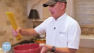 Making Big H Spaghetti and Garlic Bread - Hires at Home