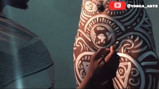 How To Paint A Body Full Video 2020 With Yonga Arts