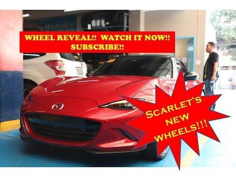 New Wheels for my MX5!! - Scarletmiata 071