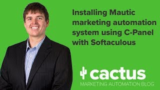 Install the amazing free Mautic marketing automation system using C-Panel with Softaculous