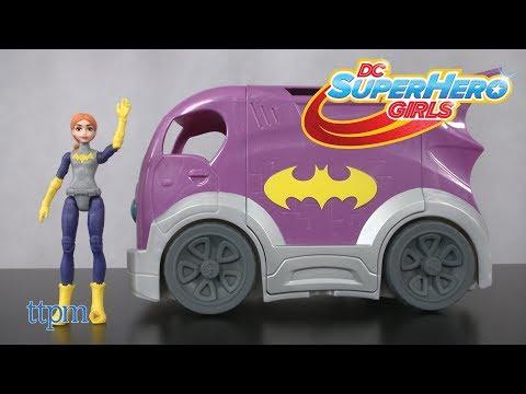 DC Super Hero Girls Batgirl Mission Vehicle from Mattel