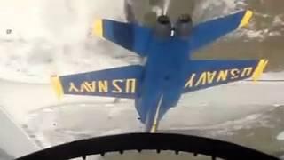 Blue  Angle F-18