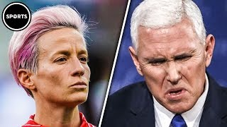 Gay Female Soccer Star Tells Mike Pence To P*** OFF