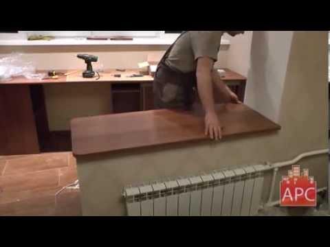 Компьютерный стол и столешница для лоджии