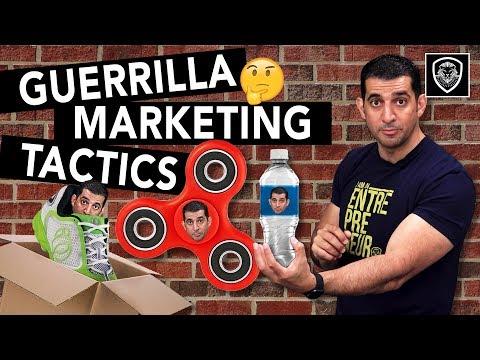 14 Guerrilla Marketing Tactics for Entrepreneurs