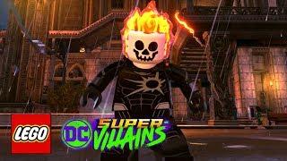 LEGO DC Super-Villains - How To Make Ghost Rider (Johnny Blaze)