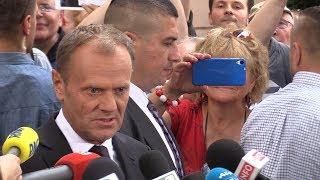 Donald Tusk: Prezes Kaczyński mnie nie przestraszy.