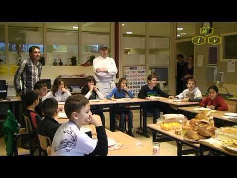 Schoolontbijt 2010 't Startblok in de Valuwe