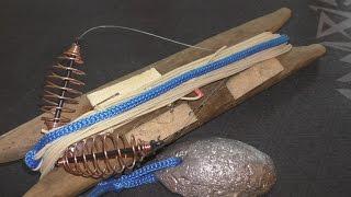 Как сделать резинку для ловле рыбы