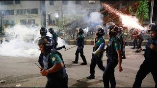 Police use rubber bullets to disperse quota protesters, clash on