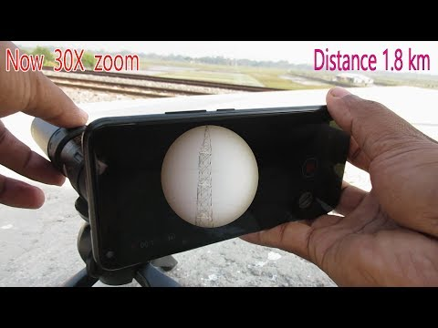 Nikula 10 30×25 Monocular, Unbox and Review then zoom test