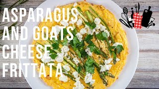 Asparagus And Goats Cheese Frittata | Everyday Gourmet S9 EP58
