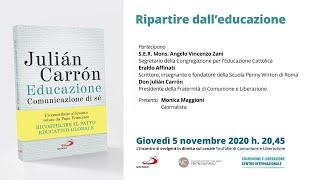 El video del encuentro (en italiano)