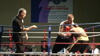 preview picture of video 'www.unlicensedboxing.com - Prize Ring fight - Louis Cadman v Fast Freddie'