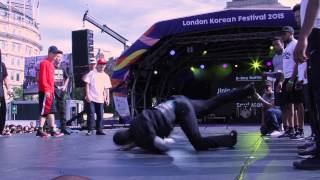 Jinjo vs Soul Mavericks // .BBoy World // EXHIBITION | LONDON KOREAN FESTIVAL 2015