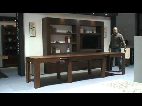 Mesa de comedor extensible. Muebles Daimesa