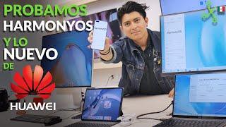 HarmonyOS: probamos y así funciona el nuevo sistema operativo de HUAWEI en México